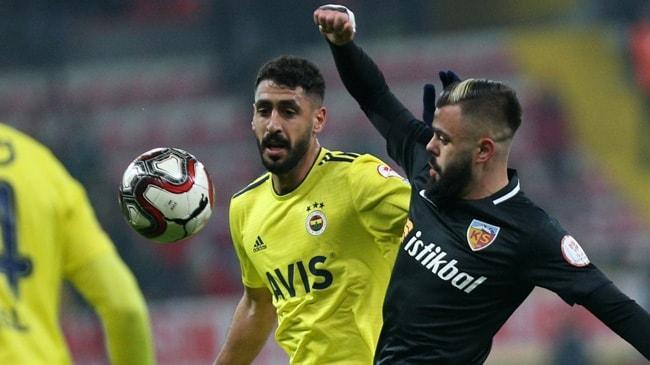 Fenerbahçe, Ziraat Türkiye Kupası'nda Kayserispor'u konuk ediyor