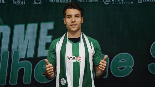 Konyaspor, Guilherme Sitya ile resmi sözleşme imzaladığını açıkladı