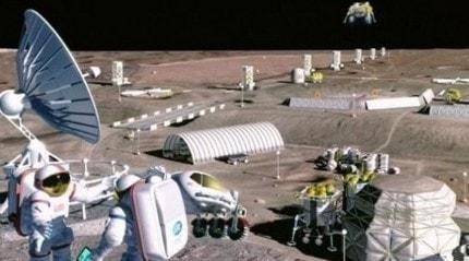 ESA Ay tozundan oksijen üreten bir sistem geliştiriyor