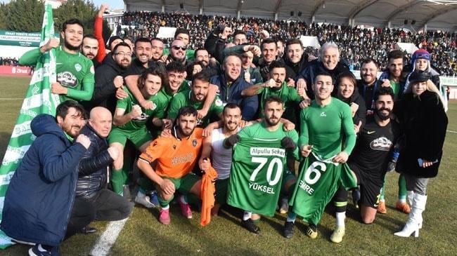 Ziraat Türkiye Kupası'nda Kırklarelispor, Medipol Başakşehir'i eleyip çeyrek finale yükseldi