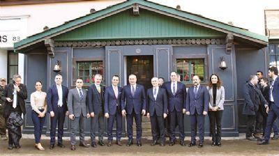 Yatırımcılara Davos'ta 'Türk Evi'