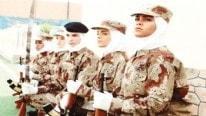 İşte ilk Suudi kadın askerler