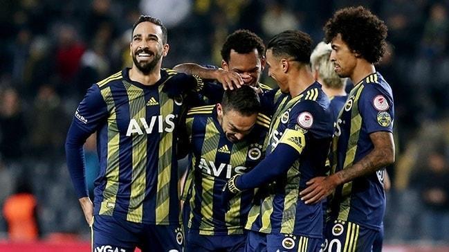 Ziraat Türkiye Kupası maç sonucu Fenerbahçe: 2 Kayserispor: 0