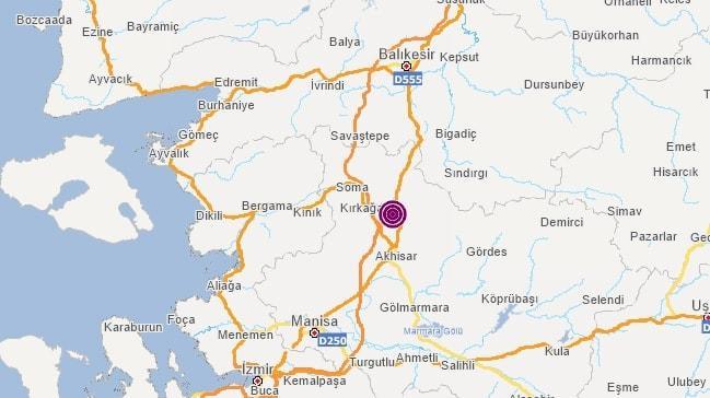 Manisa'da 5.4 büyüklüğünde deprem! İstanbul'da da hissedildi
