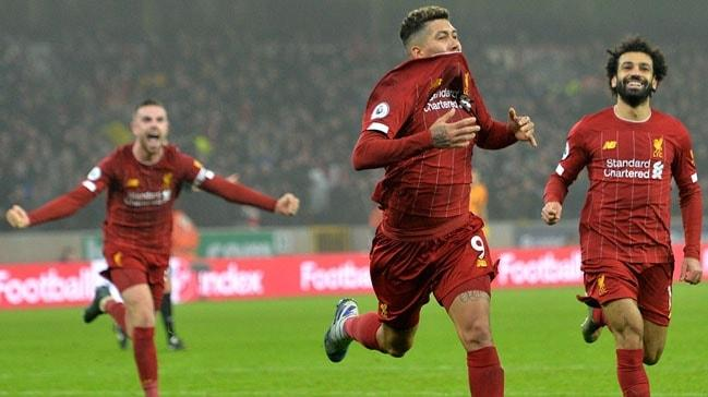 Liverpool tarihi galibiyet serisine devam ediyor