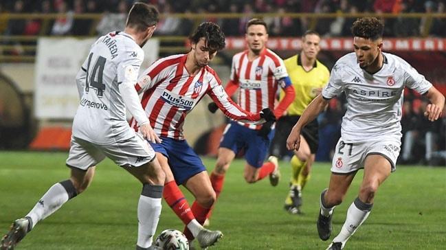 Atletico Madrid 3. Lig takımına elenerek kupaya veda etti