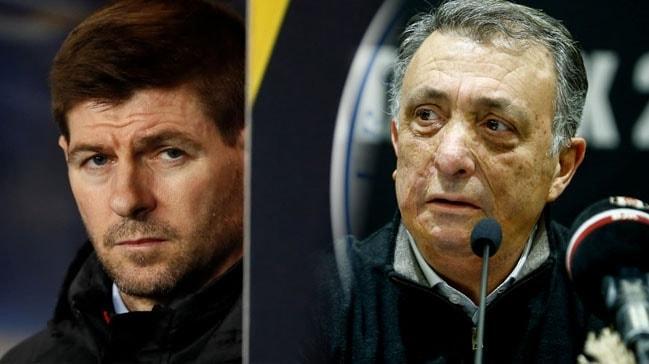 Ahmet Nur Çebi Beşiktaş'ın başında Gerrard'ı görmek istiyor
