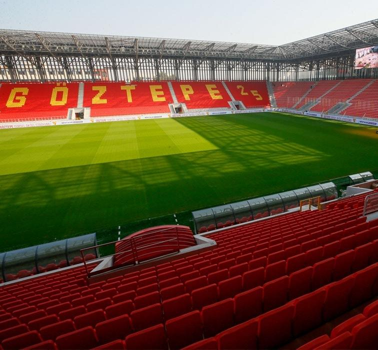 Gürsel Aksel Stadı Göztepe-Beşiktaş maçıyla kapılarını açacak