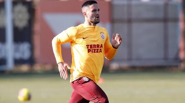 Galatasaray'da Florin Andone çalışmalara başladı