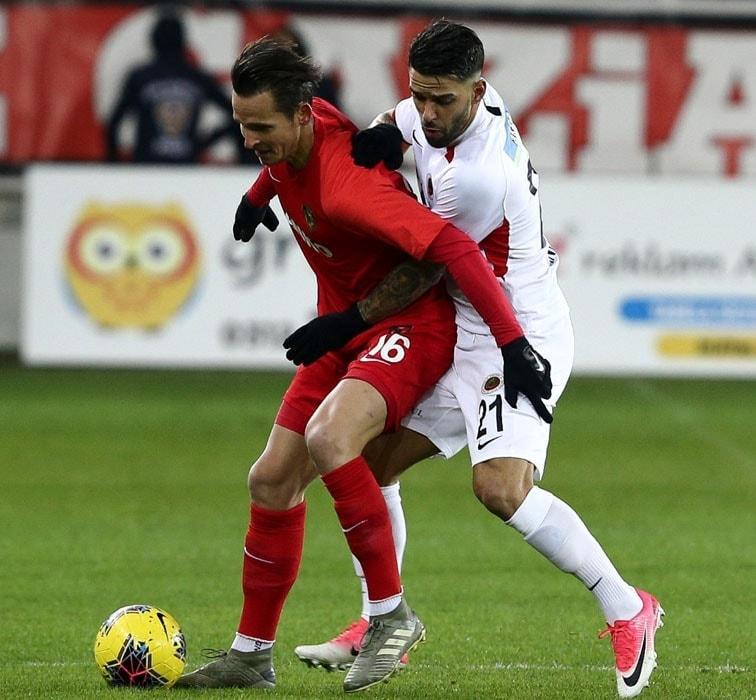 Gençlerbirliği, haftanın açılış maçında Gaziantep FK'tı tek golle mağlup etti