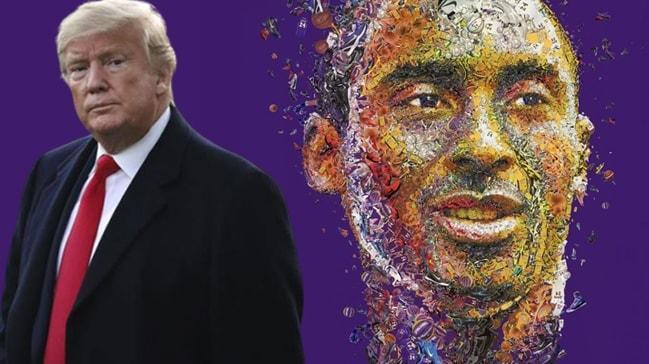 Trump'tan flaş Kobe Bryant paylaşımı: Korkunç bir haber
