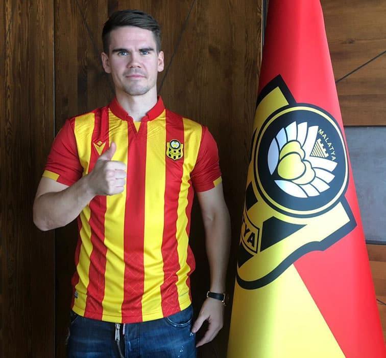 Yeni Malatyaspor, İzlandalı golcü Vidar Örn Kjartansson'u kadrosuna kattı