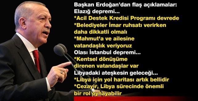 Başkan Erdoğan'dan Cezayir-Gambiya yolunda flaş açıklamalar!