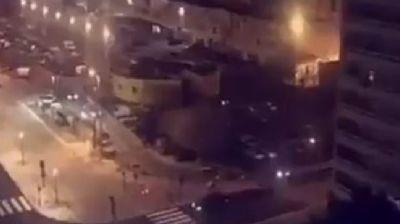 Fransa'nın Nimes şehrinde silah sesleri!
