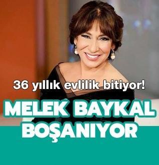 Melek Baykal 36 yıllık evlililiğini bitirme kararı aldı!