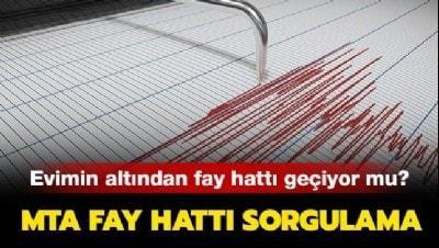 MTA fay hattı sorgulama nasıl yapılır? İşte Türkiye deprem fay haritası