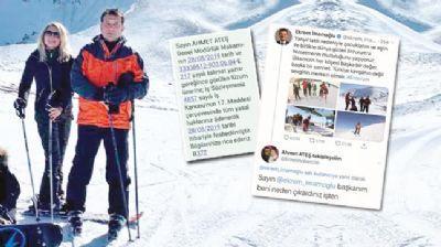 Kayak tatili yapan İmamoğlu'na işçiden mesaj: Beni niye kovdun Başkan