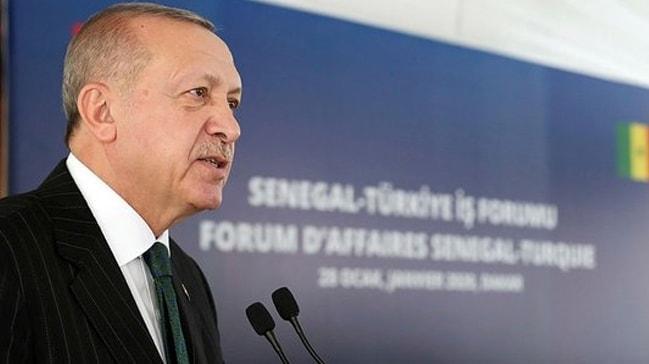 Başkan Erdoğan iş adamlarına çağrıda bulundu ve ekledi:Hedef 1 milyar dolar