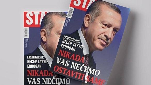 Başkan Erdoğan Stav Dergisi'ne mülakat verdi: Bu duruma seyirci kalamayız