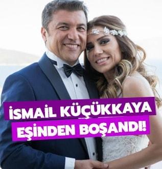 İsmail Küçükkaya eşinden boşandı!