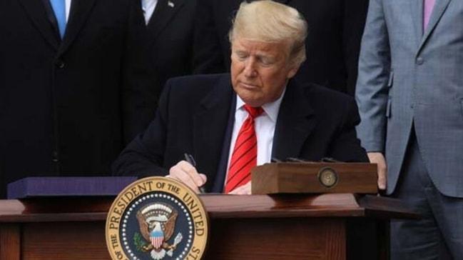 Trump imzaladı! Yeni dönem resmen başladı