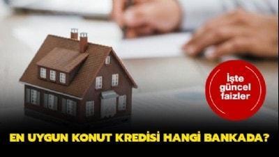 0.79 en uygun konut kredisi hangi bankada? Konut kredisi hesaplama Ziraat, Halkbank, Vakıfbank..