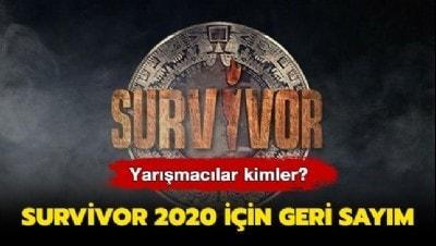 2020 Survivor yarışmacıları kimler? Survivor 2020 ne zaman, hangi ay başlar?