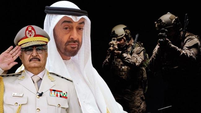 BAE diye Libya'ya götürmüşler! Black Shield'ın lejyonerleri Hafter ...