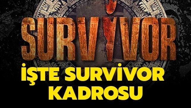 İşte 2020 Survivor kadrosu