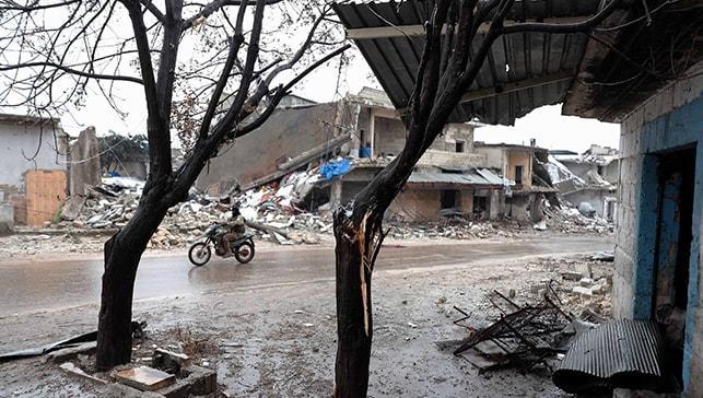 İdlib çevresi, hayalet kente döndü