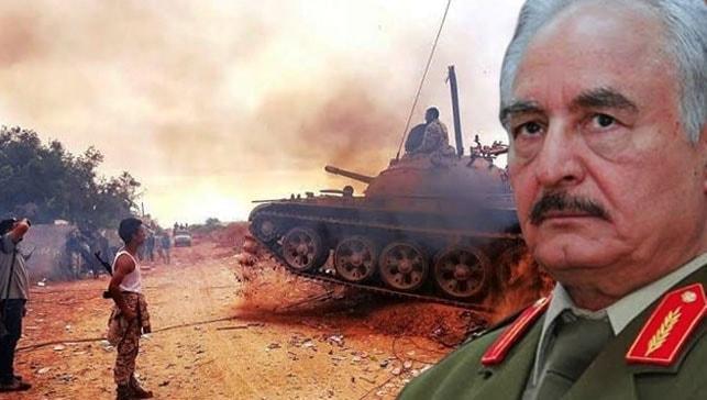 Libya'da UMH güçleri BAE'ye ait zırhlı araçlar ele geçirdi