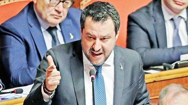 Matteo Salvini: Libya konusunda Türkiyegibi yapmalıyız