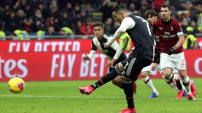 Cristiano Ronaldo'nun son kurbanı Milan oldu