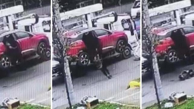 Çekiciden düşerek yaralanan kadının kızına trafik cezası geldi!