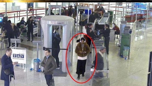 Esenboğa Havalimanı'nda kadın kılığında yakalandı