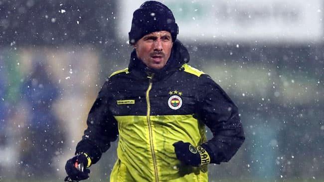 Emre Belözoğlu bu akşamki Ankaragücü maçında ilk 11'de sahaya çıkacak