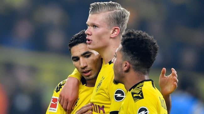 Borussia Dortmund sahasında Eintracht Frankfurt'u 4-0 mağlup etti