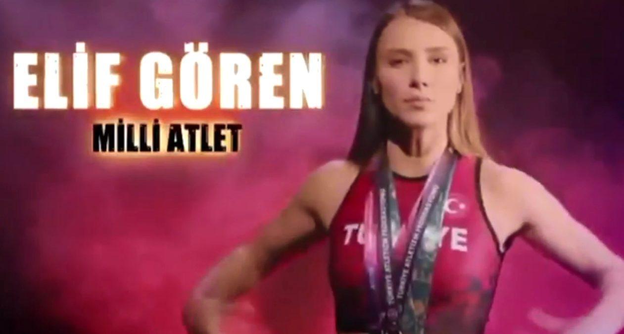 """Survivor Elif Gören kimdir"""" Milli atlet Elif Gören kaç yaşında, nereli"""""""