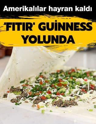Antalya'nın meşhur böreği Guinness yolunda... Amerikalılar hayran kaldı