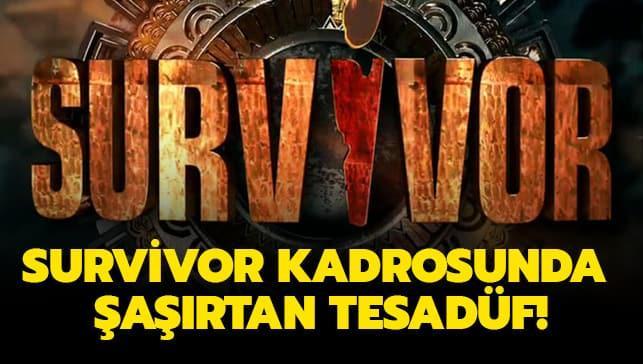 Survivor 2020 kadrosunda şaşırtan tesadüf...Herkesin tanıdığı ünlü isimlerin akrabası çıktılar!