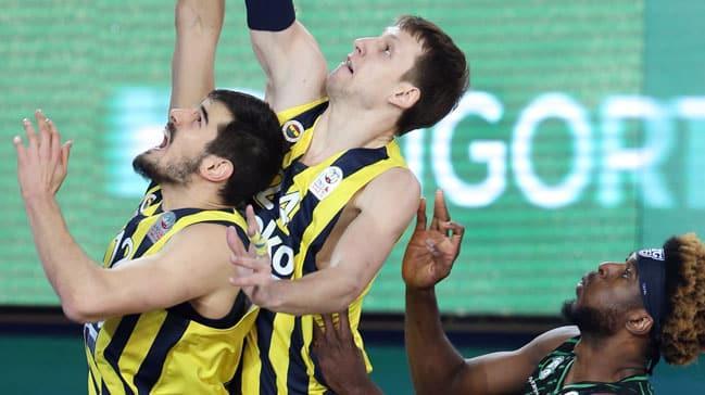 Darüşşafaka Tekfen'i mağlup eden Fenerbahçe Beko kupanın sahibi oldu