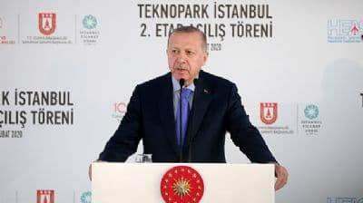 Başkan Erdoğan'dan 'Teknopark' paylaşımı