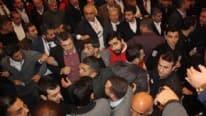 CHP kongresinde gergin anlar