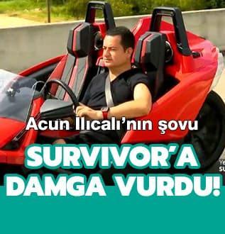 Acun Ilıcalı'nın şovu Survivor'a damga vurdu!