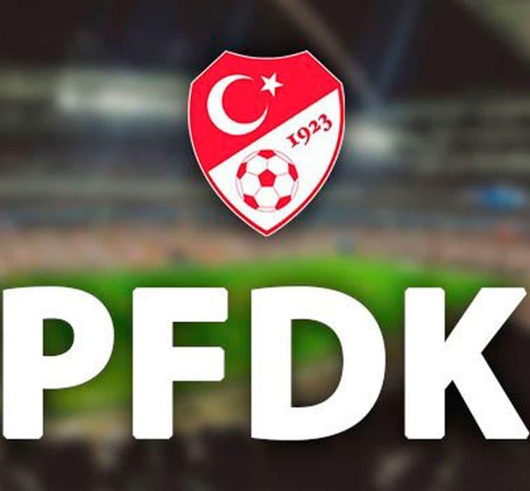 4 Süper Lig kulübü PFDK'da
