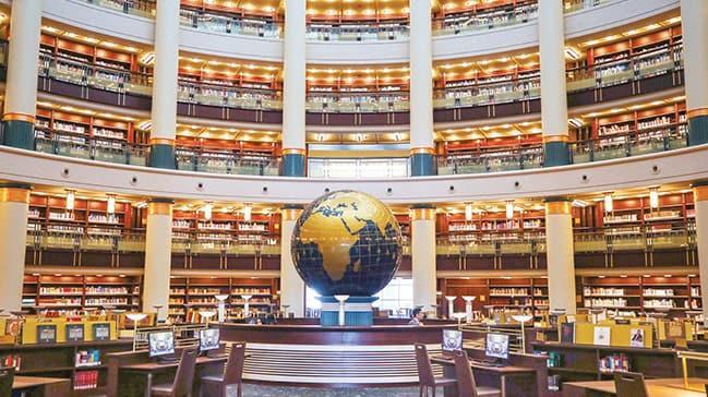 Millet Kütüphanesi'negörkemli açılış