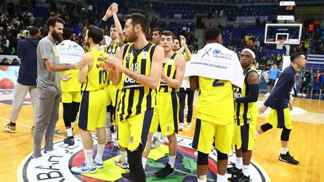Fenerbahçe Beko, THY Avrupa Ligi'nde Real Madrid'i konuk ediyor