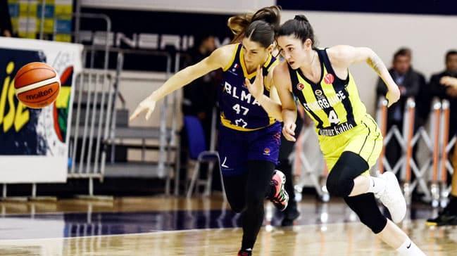 Fenerbahçe Öznur Kablo, Euroleague'de çeyrek finalde