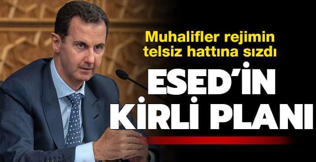 Esed'in kirli planı! Türkiye'yi böyle suçlamaya hazırlanıyor