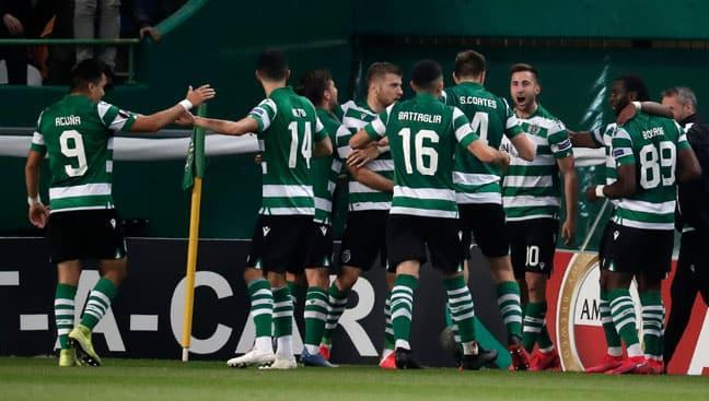Medipol Başakşehir, Avrupa Ligi'nde Sporting'e deplasmanda mağlup oldu